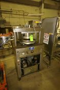 PSI S/S Dough Press, with Bottom Mounted Hydraulic Unit, Mounted on Portable Frame (LOCATED IN