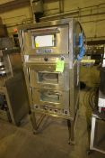 Bakers Pride S/S Triple Deck Oven, Mounted on Portable Frame (LOCATED IN MEDFORD, WI) (Rigging,