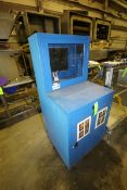"""Portable Plant Computer Cabinet, Overall Dims.: Aprox. 30"""" L x 30"""" W x 66-1/2"""" (LOCATED IN"""