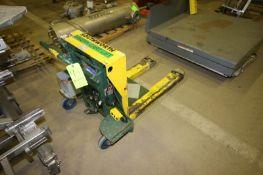 Southworth Electric Lift Cart, M/N PTU2-85, S/N 48289-01/X16696B-000-01 (NOTE: Missing Some Parts--
