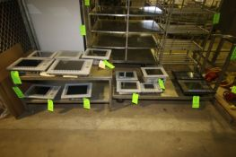"""S/S Table & S/S Push Cart, Table Overall Dims.: Aprox. 45"""" L x 24"""" W x 23-1/2"""" H, Cart Overall"""