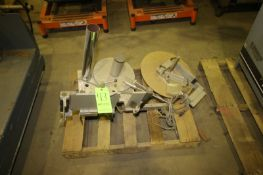 Accradley Labeler Frame (NOTE: Missing Base & Other Parts--See Photographs) (LOCATED IN MEDFORD,