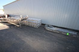 S/S Grill Conveyor Frame, with Straight Section of S/S Conveyor, with (1) S/S Stairs (NOTE: Conveyor