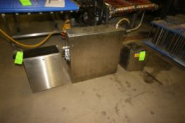 (3) S/S Control Panels, (1) with (3) Allen-Bradley PowerFlex 40 VFDs, & (2) Other S/S Control Panels