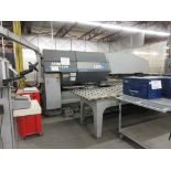 STRIPPIT Turret punch press (2001) , 30 Ton, Mod: 1500 H-30, 8ft large, air table system,