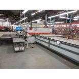 STRIPPIT Shear, 150 Ton, Mod: PPEB-150-14, PPEB-135/42, 10ft, 12ft cutting, electronic control