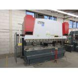 YAHWEI CNC Press brake (2014) 17 KVA 380V Cap:160 Ton ,metric 115 Ton, Model PBB16/3100 10ft, 5ft,