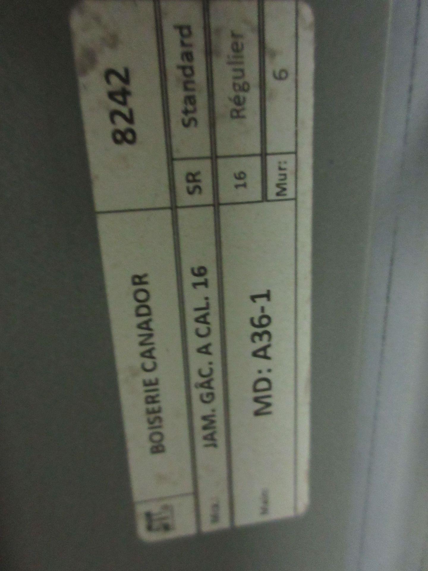 "Lot 80 - Assorted steel door frames & windows fire rated 90 min for doors/45 min for windows 30"",33 1/2"" x"