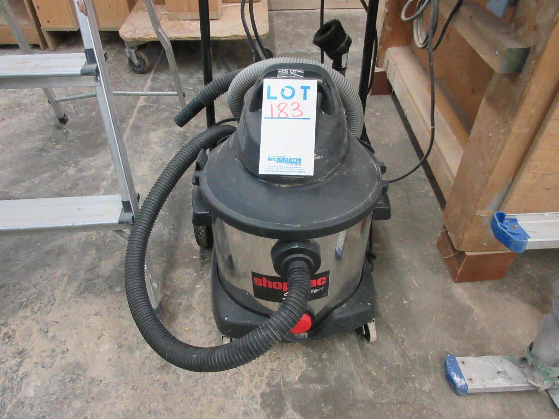 Lot 183 - SHOP VAC (8 us gallon) vacuum