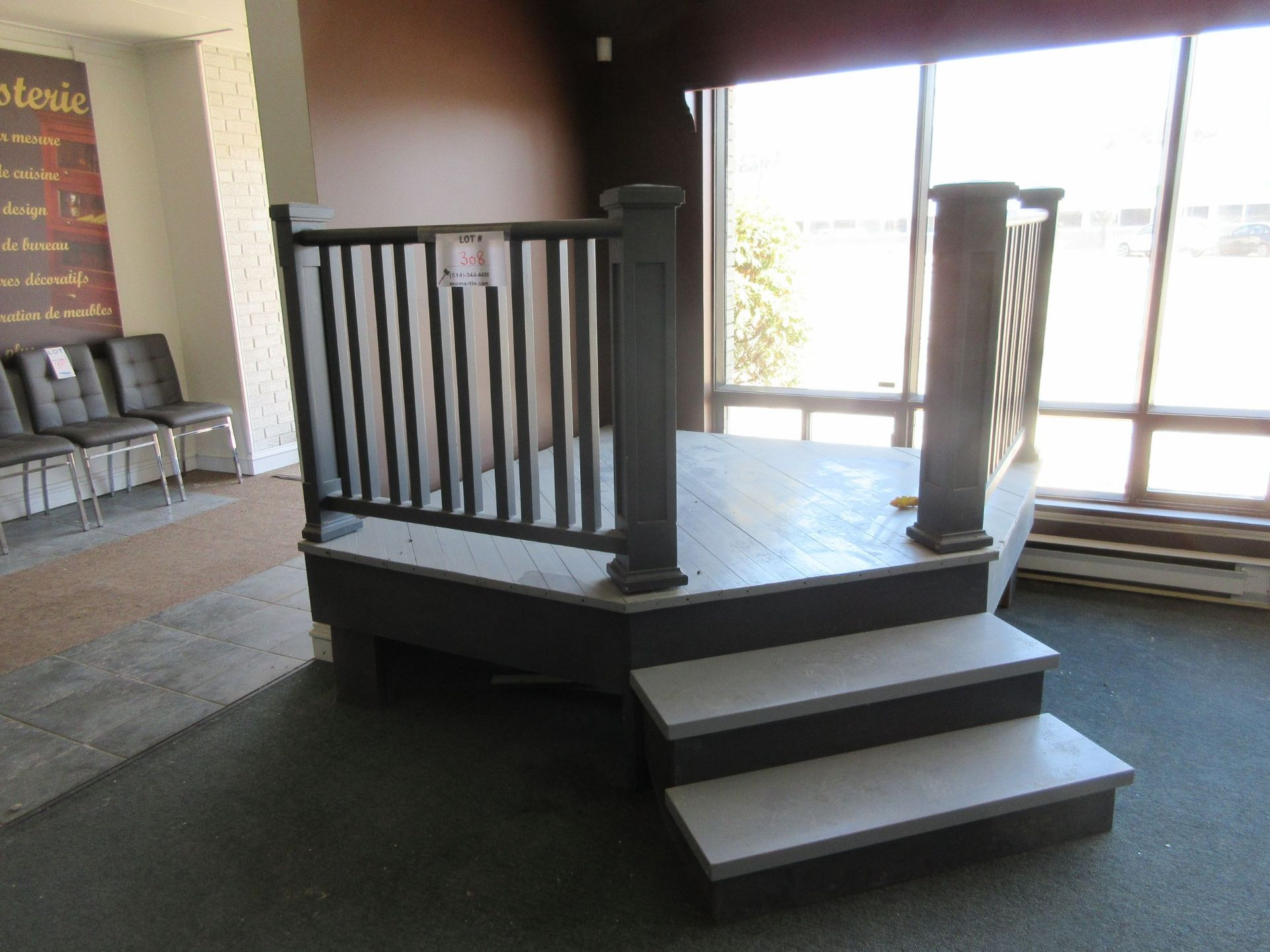 Lot 308 - LOT including patio deck