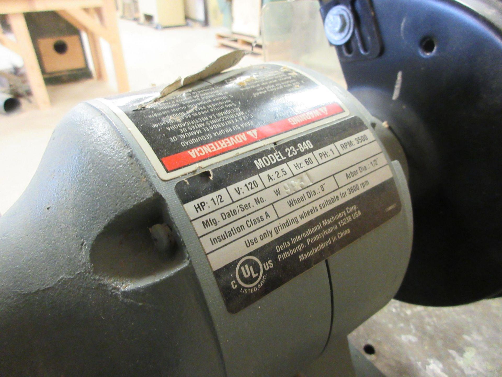 """DELTA 8"""" bench grinder - Image 3 of 3"""