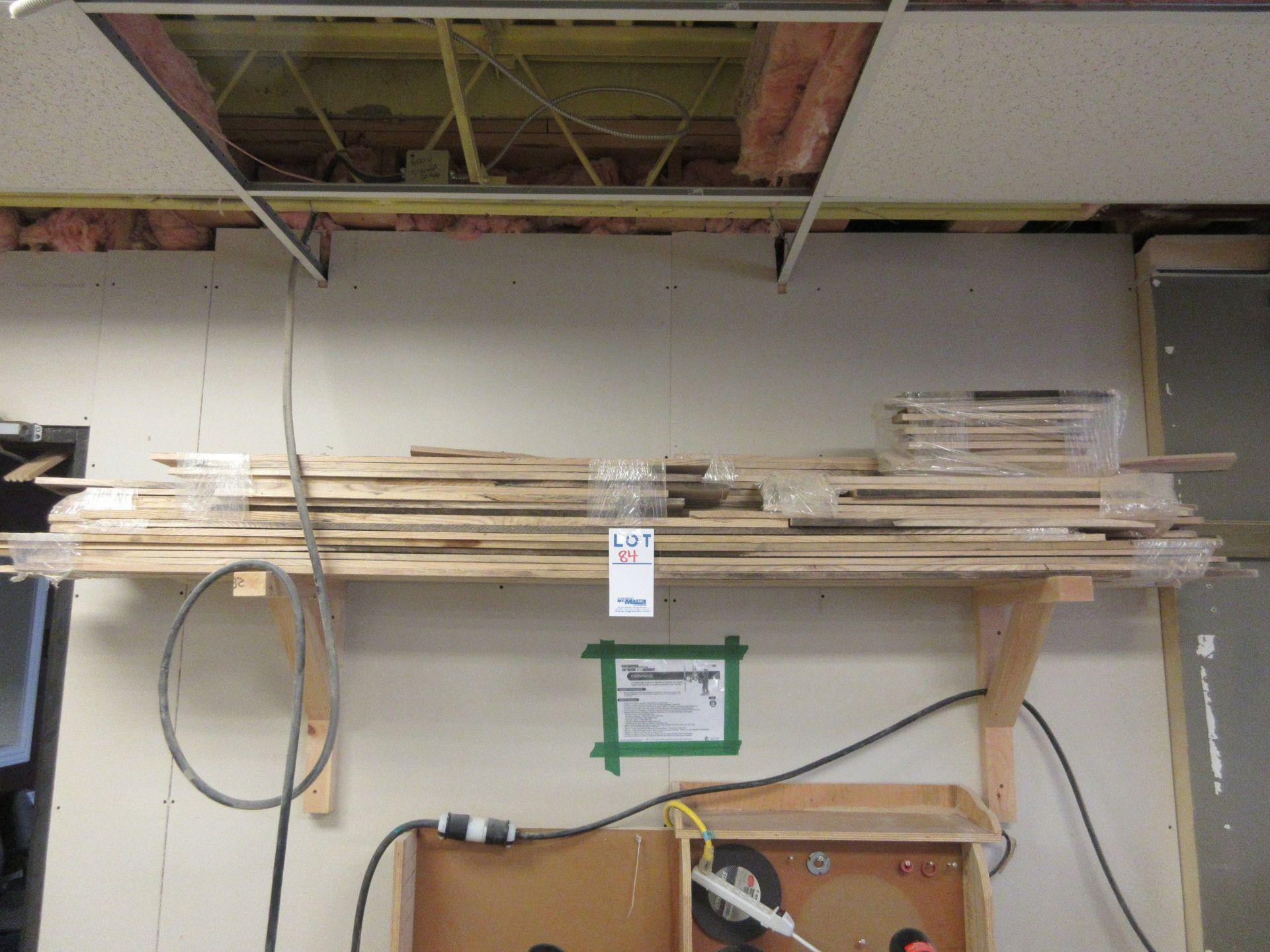 LOT assorted wood