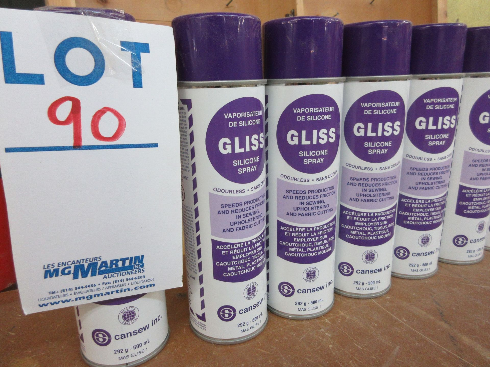 LOT Silicone spray (15) - Image 2 of 2