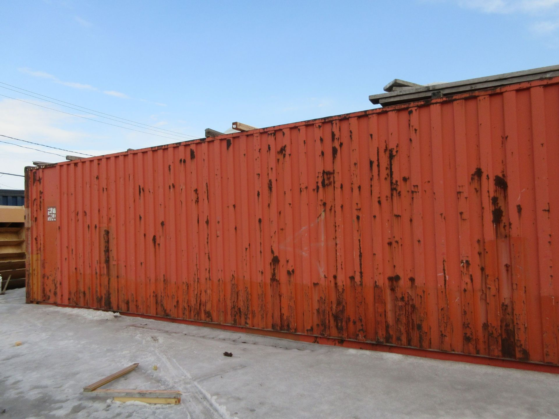 Exterior storage container 40 ft - Image 2 of 2