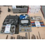 LOT including drill bits, sanding accessories, etc.