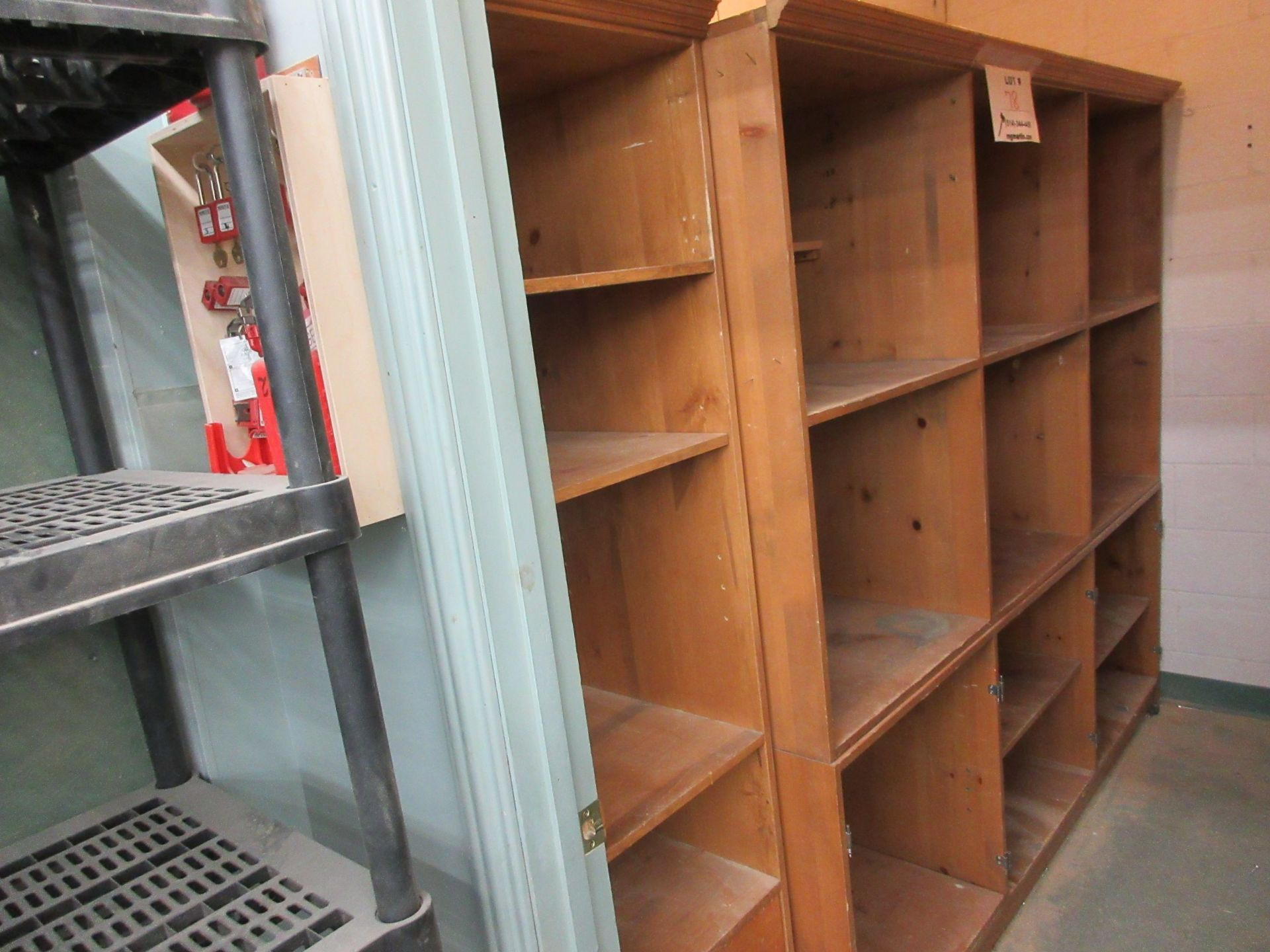 LOT including assorted shelving, etc. - Image 2 of 3