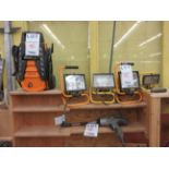 LOT including pressure washer, impact wrench, lights, etc.