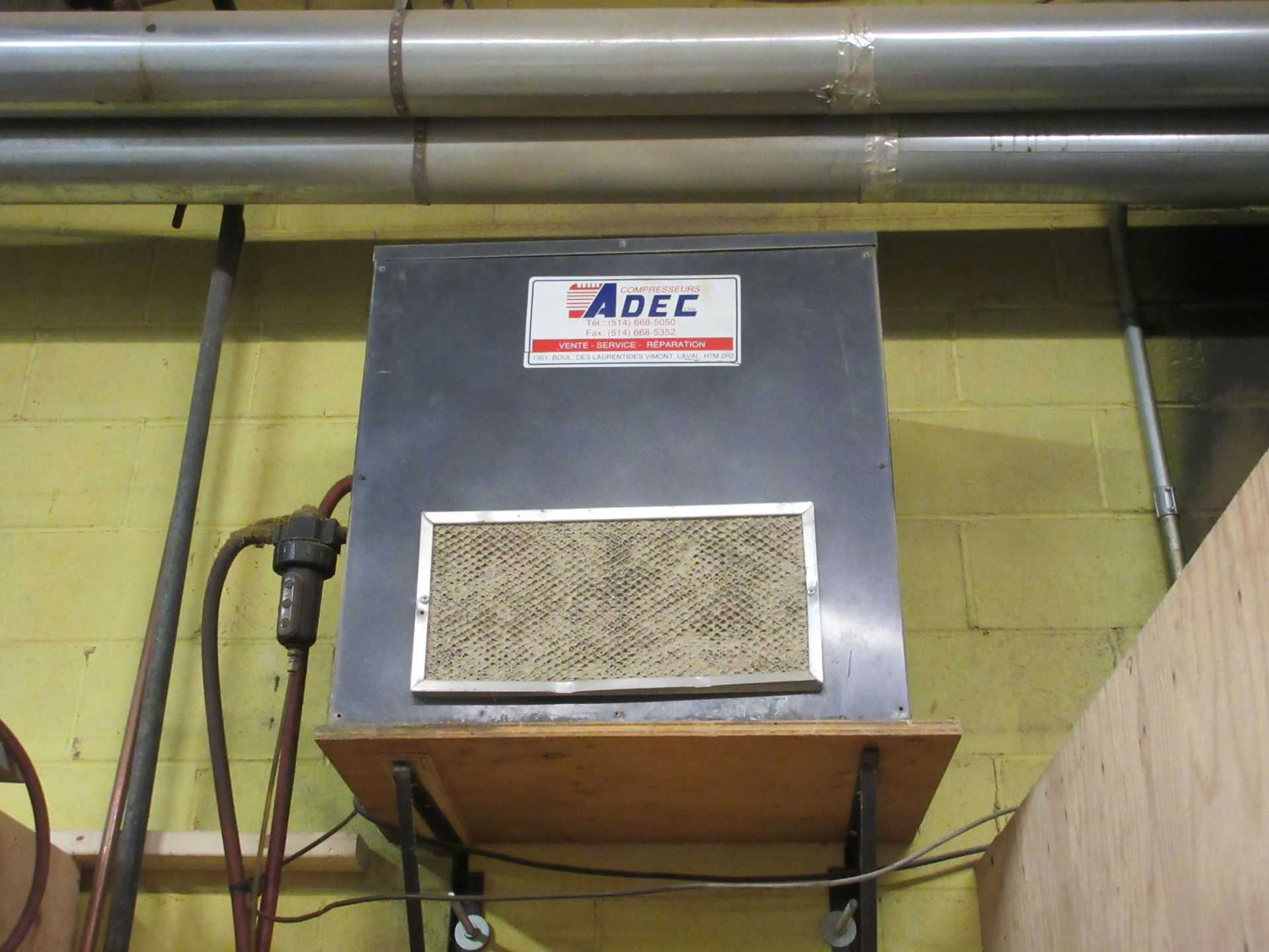Lot 47 - ADEC air dryer (SUBJECT TO BANK APPROVAL)