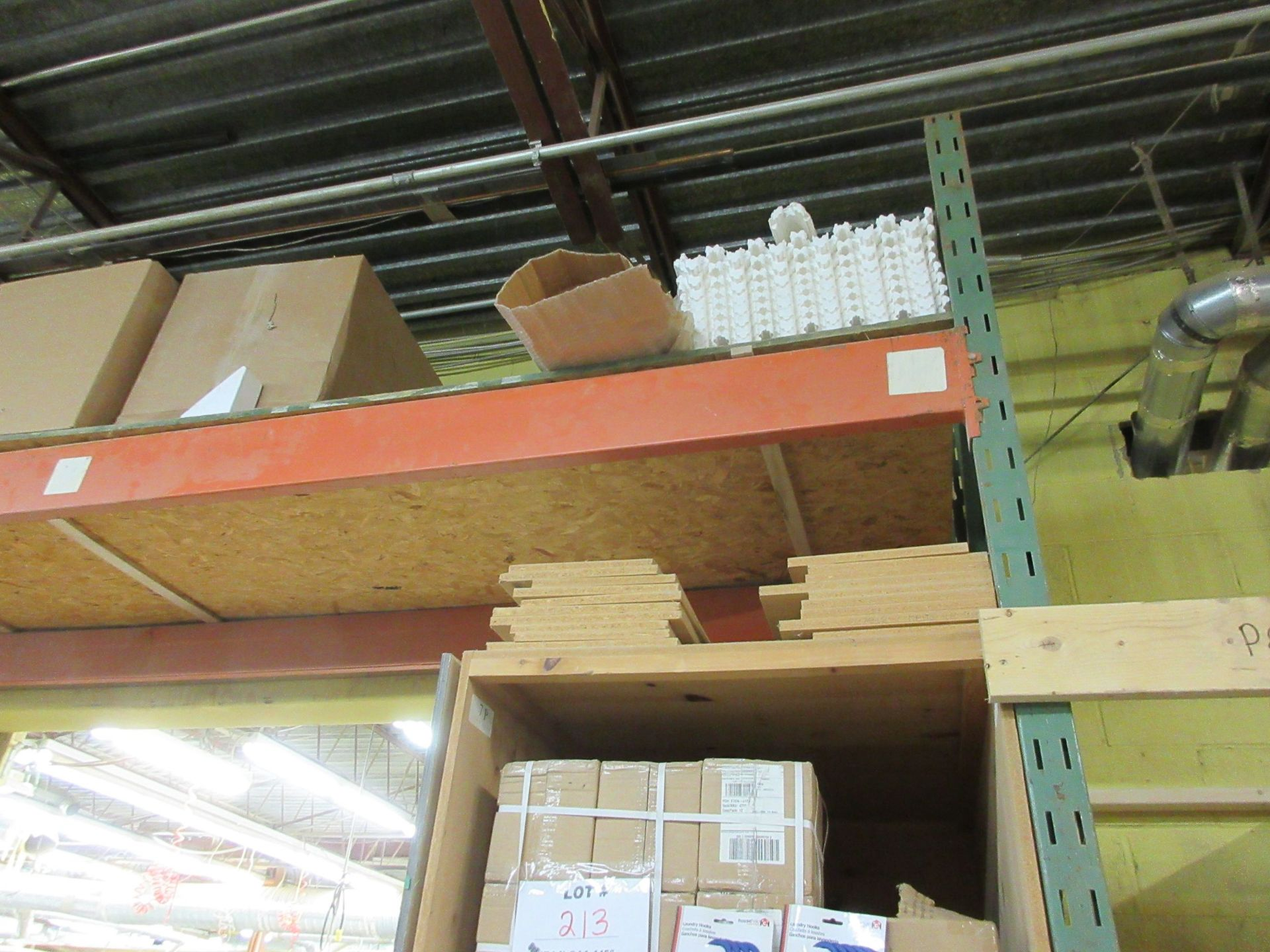 "Lot 170 - Section of industrial racking 13ft W x 42"" D x 12ft H (1) (SUBJECT TO BANK APPROVAL)"