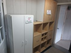 LOT including assorted cabinets, etc.