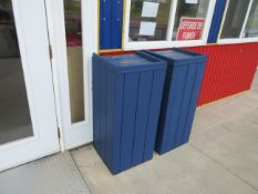 Exterior garbage containers (4)