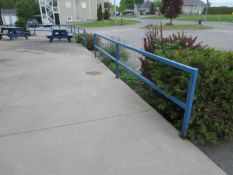 "LOT including exterior railing (aprox 70ft long x 36""h)"