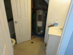LOT including complete bathroom including 48 gallon hot water tank