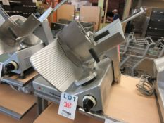 BIZERBA meat slicer model: SE12