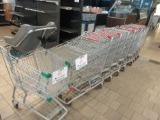 Shopping carts (9)