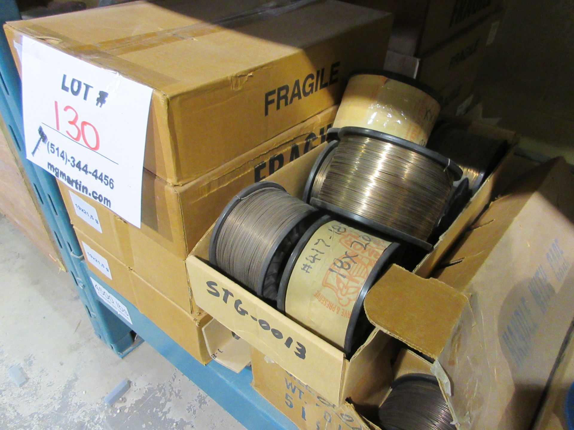 Rolls of stitching wire (qty 180) - Image 3 of 3