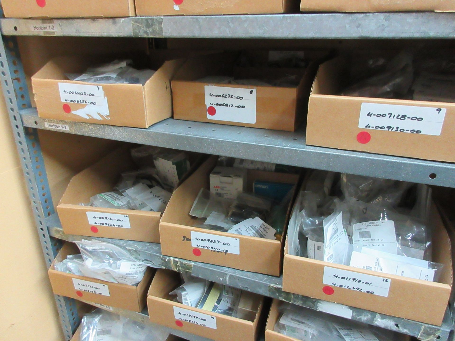 LOT Including boxes of assorted parts for STANDARD HORIZON (approx. Qty 27 boxes) - Image 4 of 6