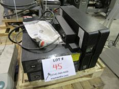 LOT Including TRIP-LITE battery packs (mod: AC5933, mod: PS7257,etc)