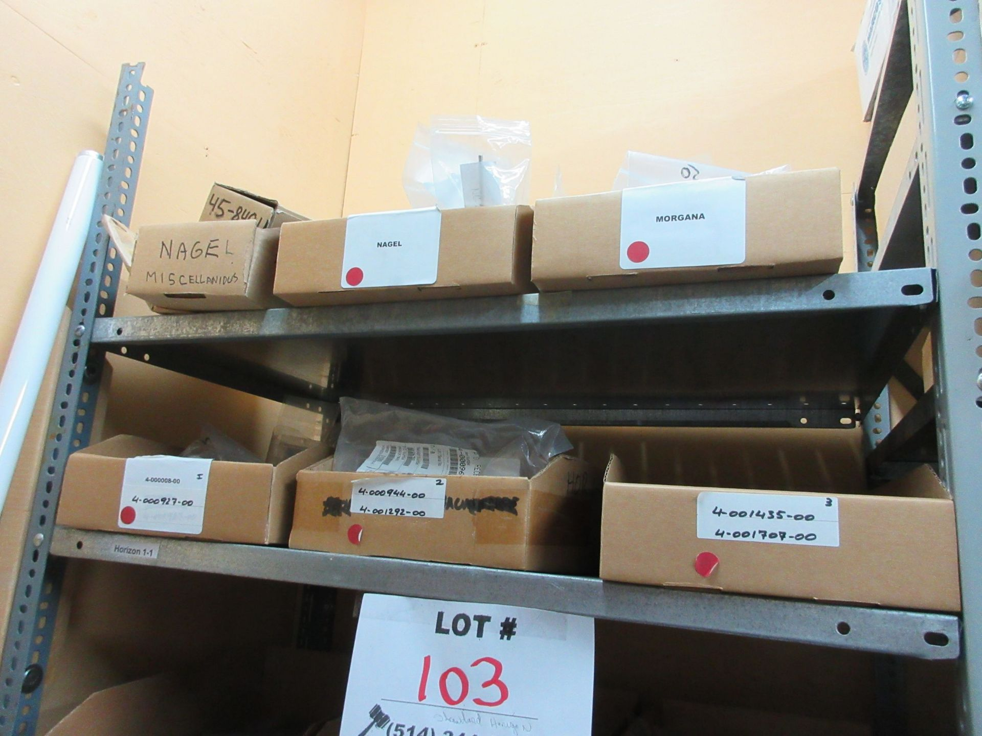 LOT Including boxes of assorted parts for STANDARD HORIZON (approx. Qty 27 boxes) - Image 2 of 6