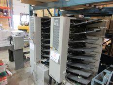 HORIZON (8) station collator (mod: MC-8A) paper size A5-A3, 200V, 60hz, 1730w & HORIZON (8)