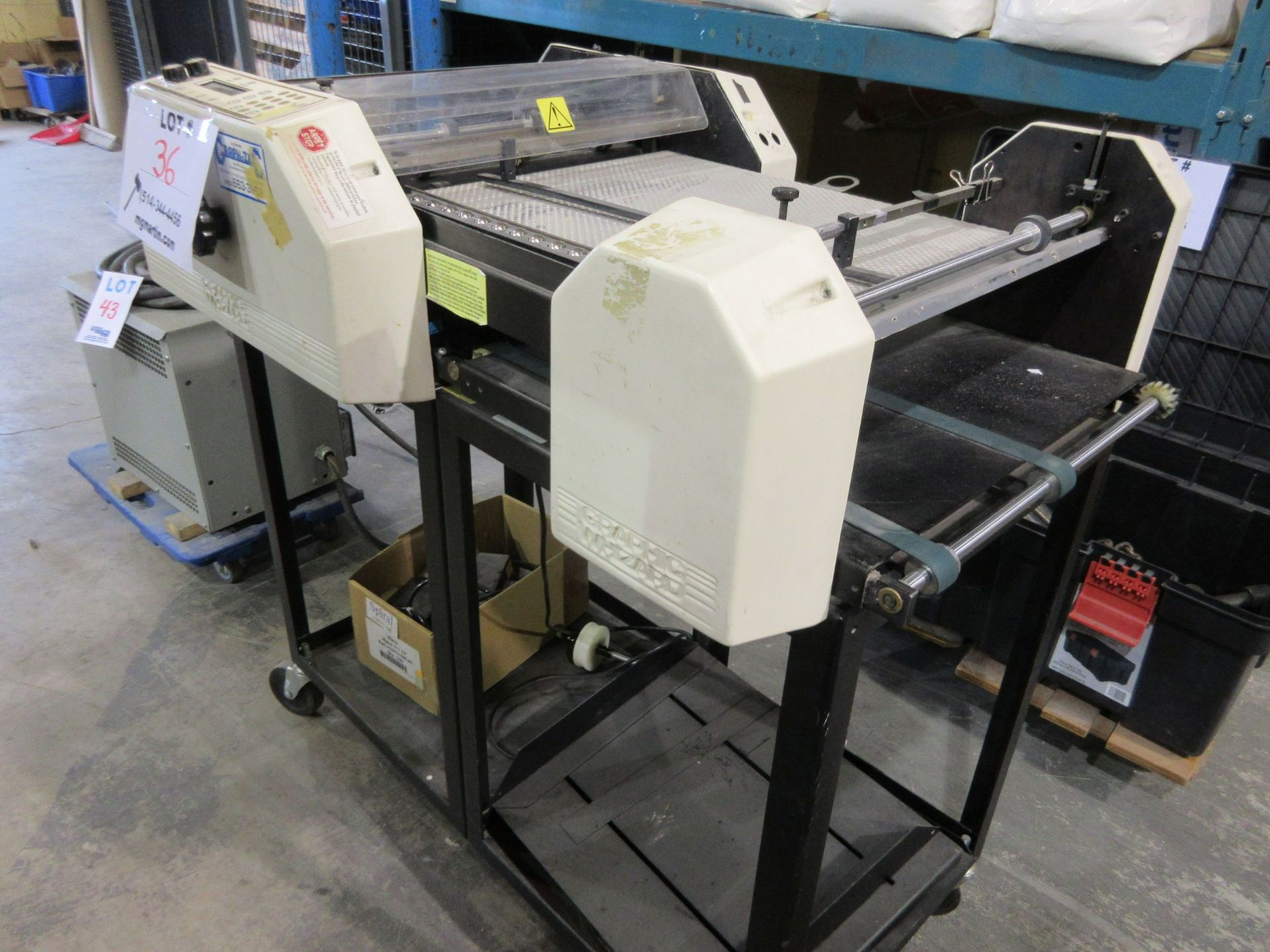 GRAPHIC WHIZARD slitter (mod: HS), 110V, 5.0 A, 50/60 hz - Image 4 of 4