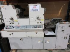 HAMADA TRUE (2) color offset press (mod: H234A) (FOR PARTS ONLY)