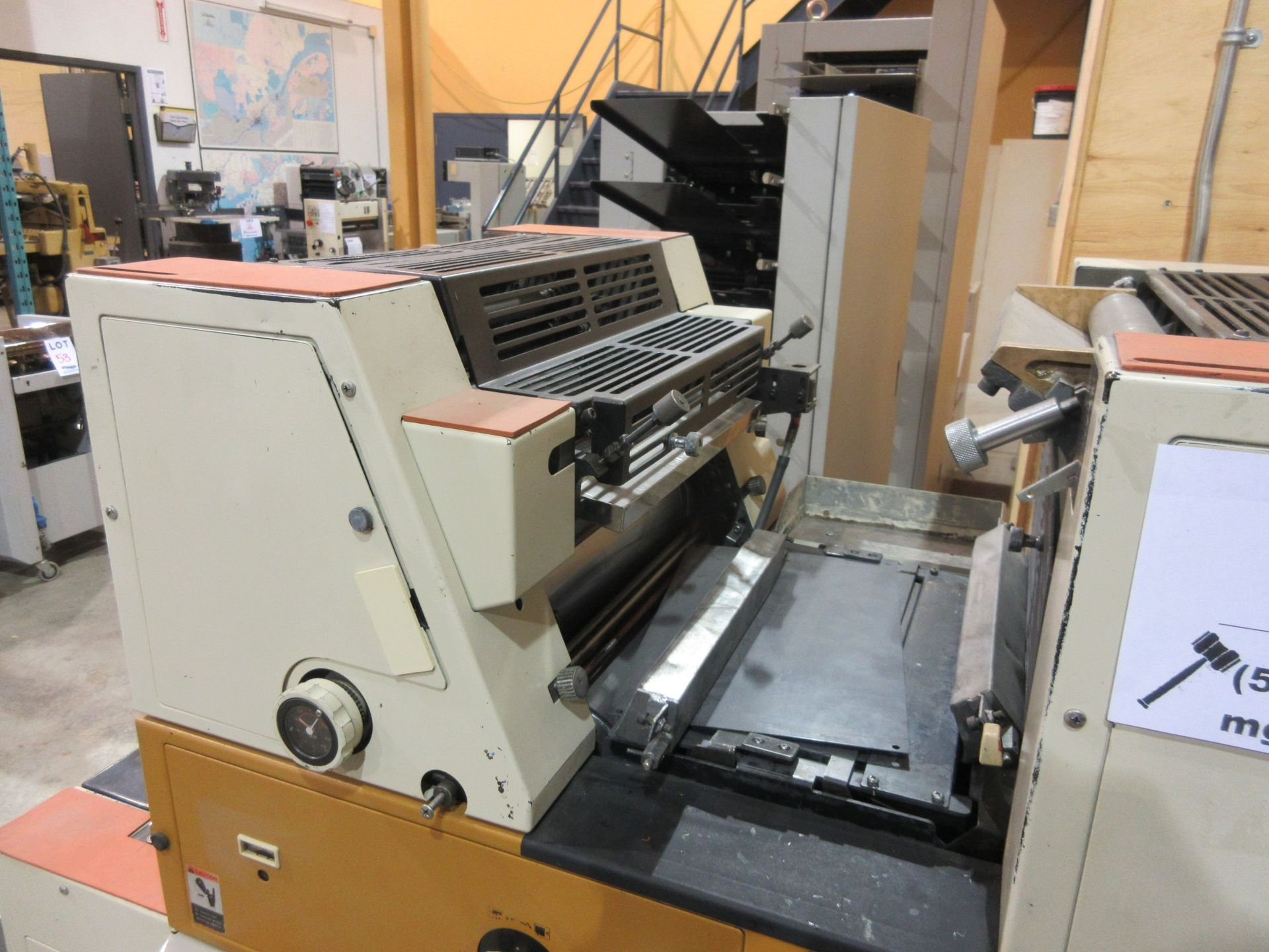 RYOBI ITEK 3985 TRUE (2) color offset press c/w ROYCE chiller - Image 4 of 8