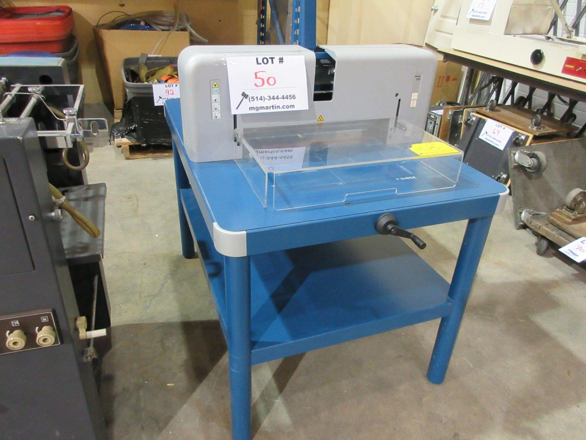 DAHLE 858 manual cutter