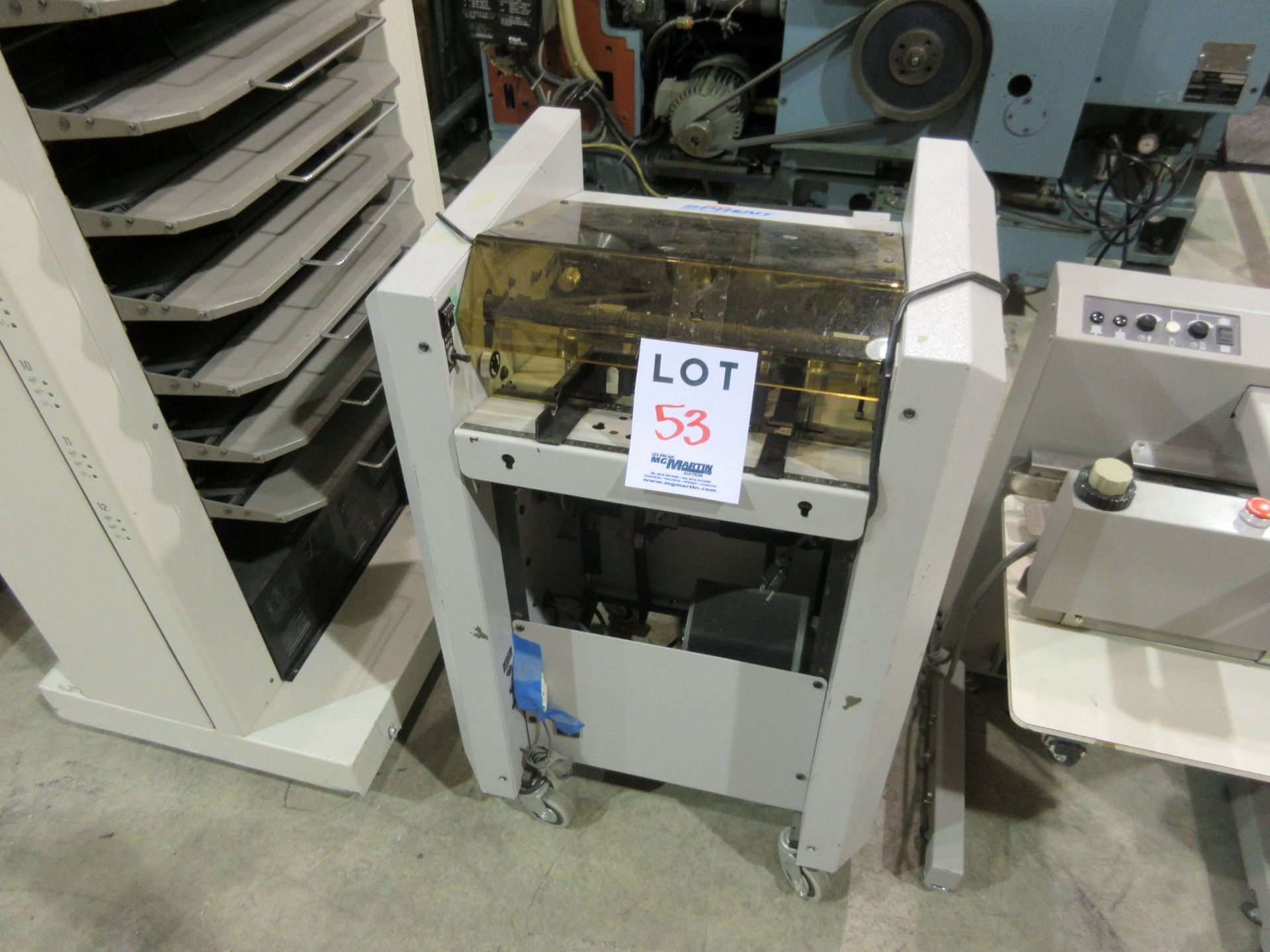 Lot 53 - MBM Sprint 5000 booklet maker (mod: 5000)