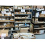 LOT Including boxes of assorted consumable spare parts for BAUMFOLDER (belts, feed rollers, sheet