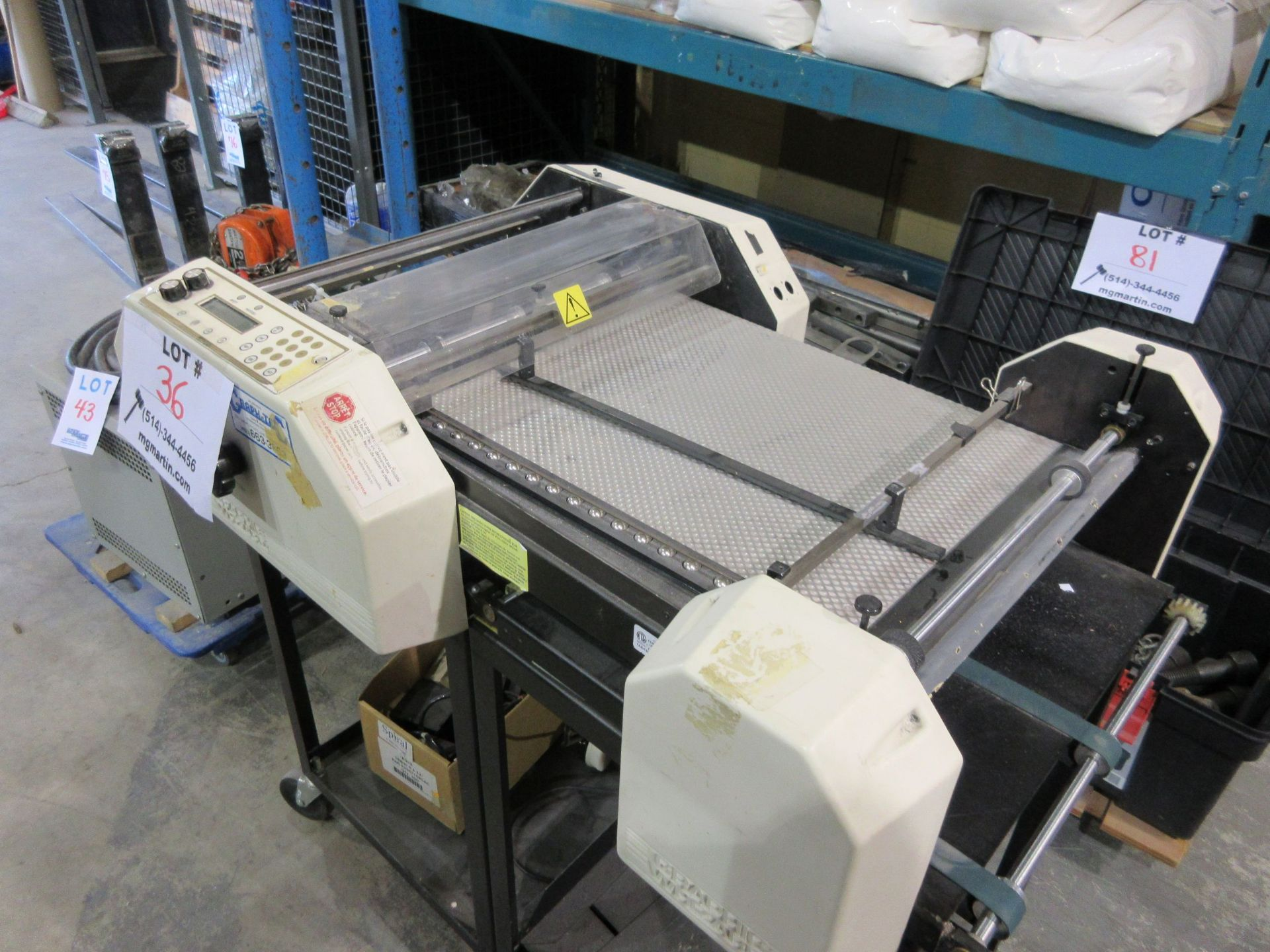 GRAPHIC WHIZARD slitter (mod: HS), 110V, 5.0 A, 50/60 hz - Image 3 of 4