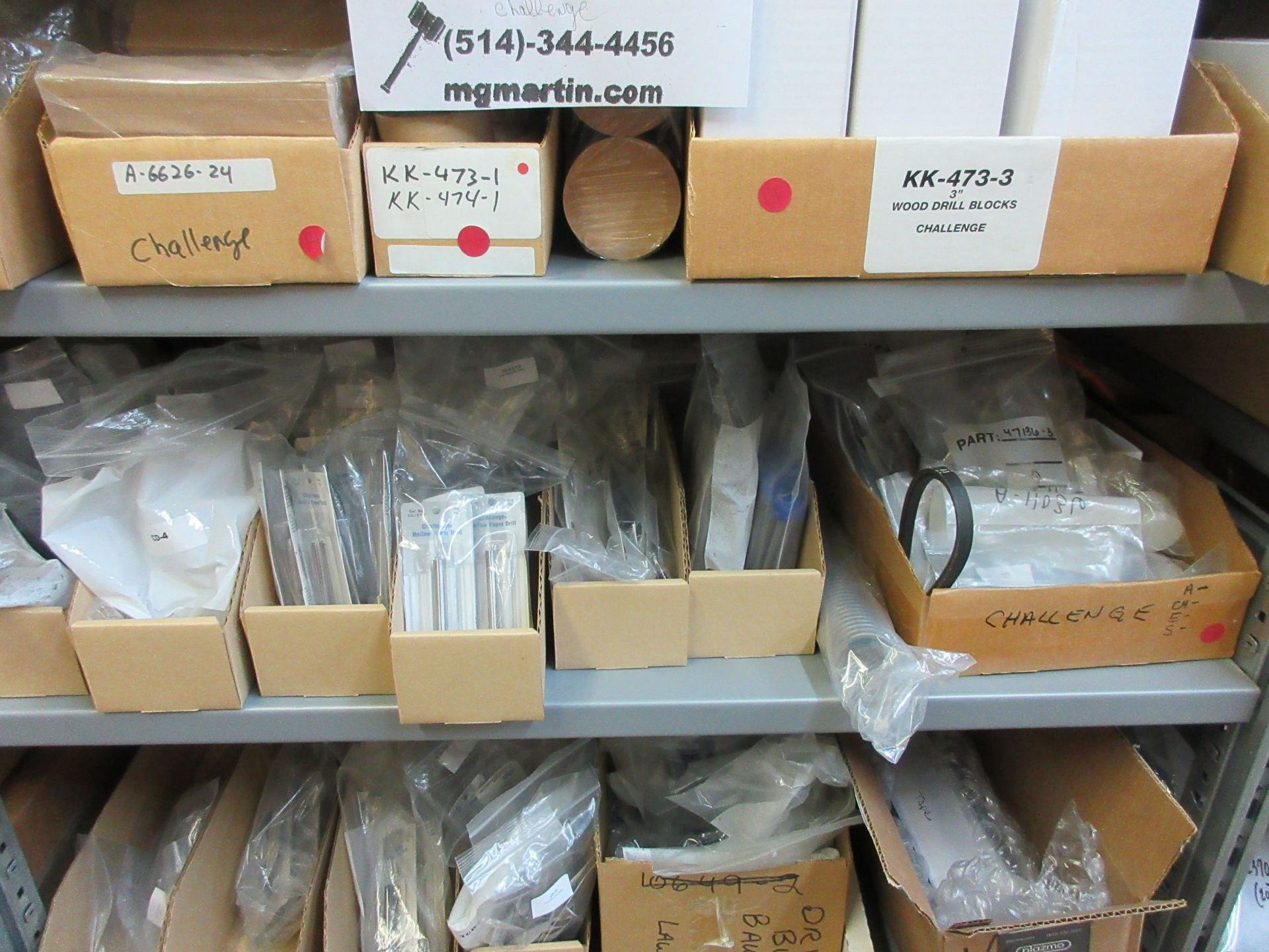 LOT Including boxes of assorted consumable parts for CHALLENGE (paper drills, cutting sticks, wooden - Image 4 of 6