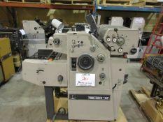 RYOBI ITEK 3200-NP number & perforating (2) color duplicator c/w T-51 color head