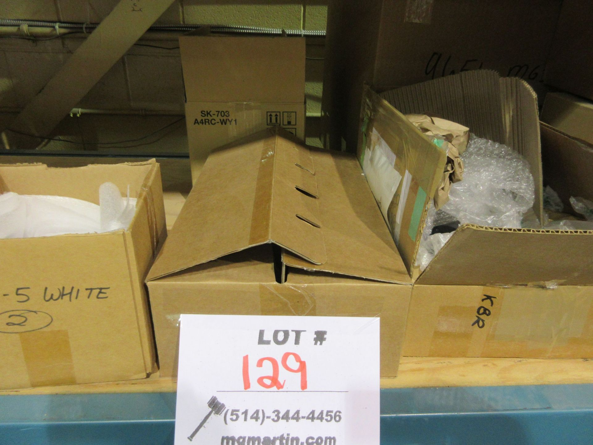 Lot 129 - LOT Including assorted ink, etc. (approx. qty 12 boxes)