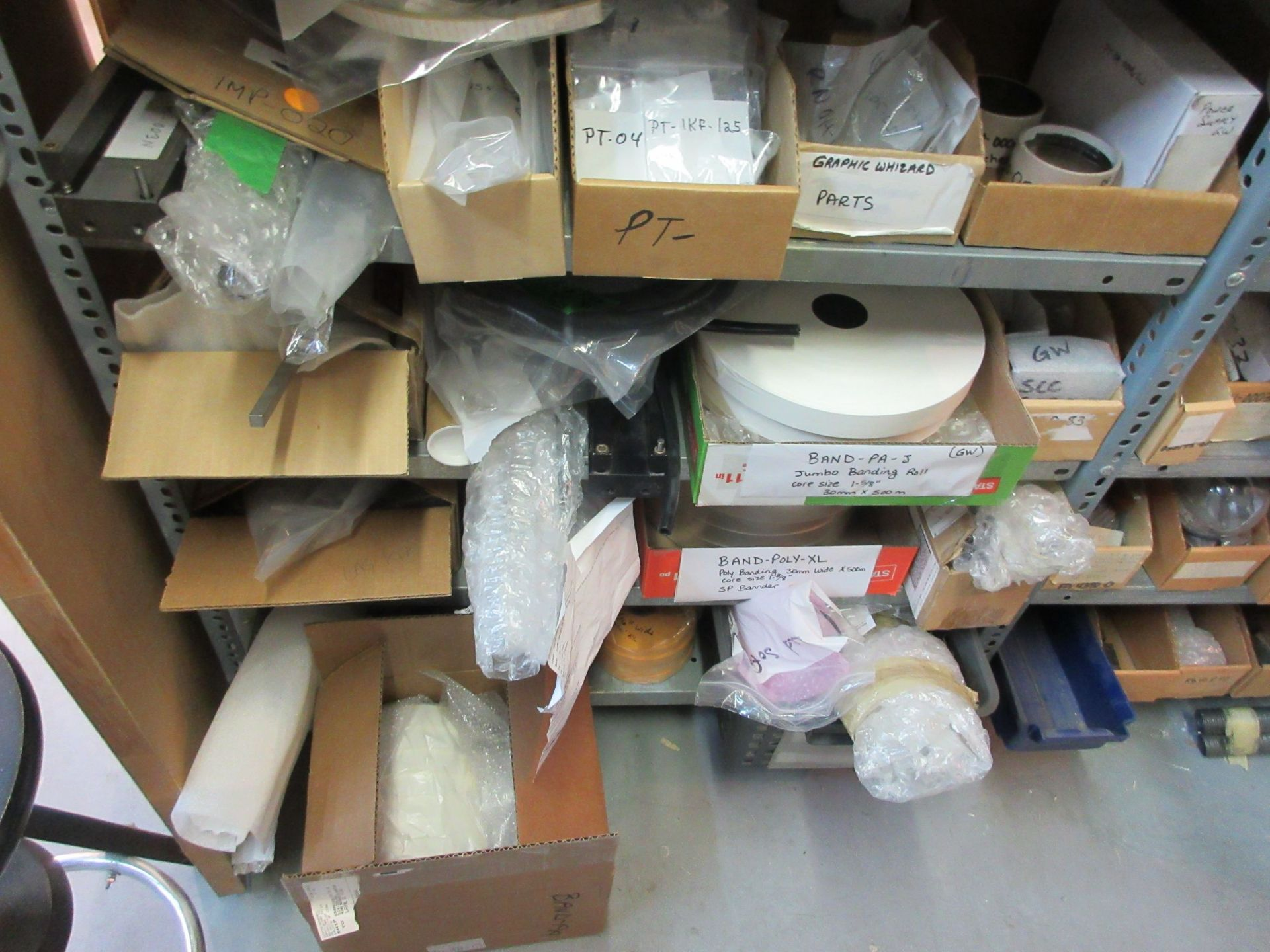 LOT Including boxes of assorted parts for STANDARD HORIZON (approx. Qty 75 boxes) - Image 10 of 11