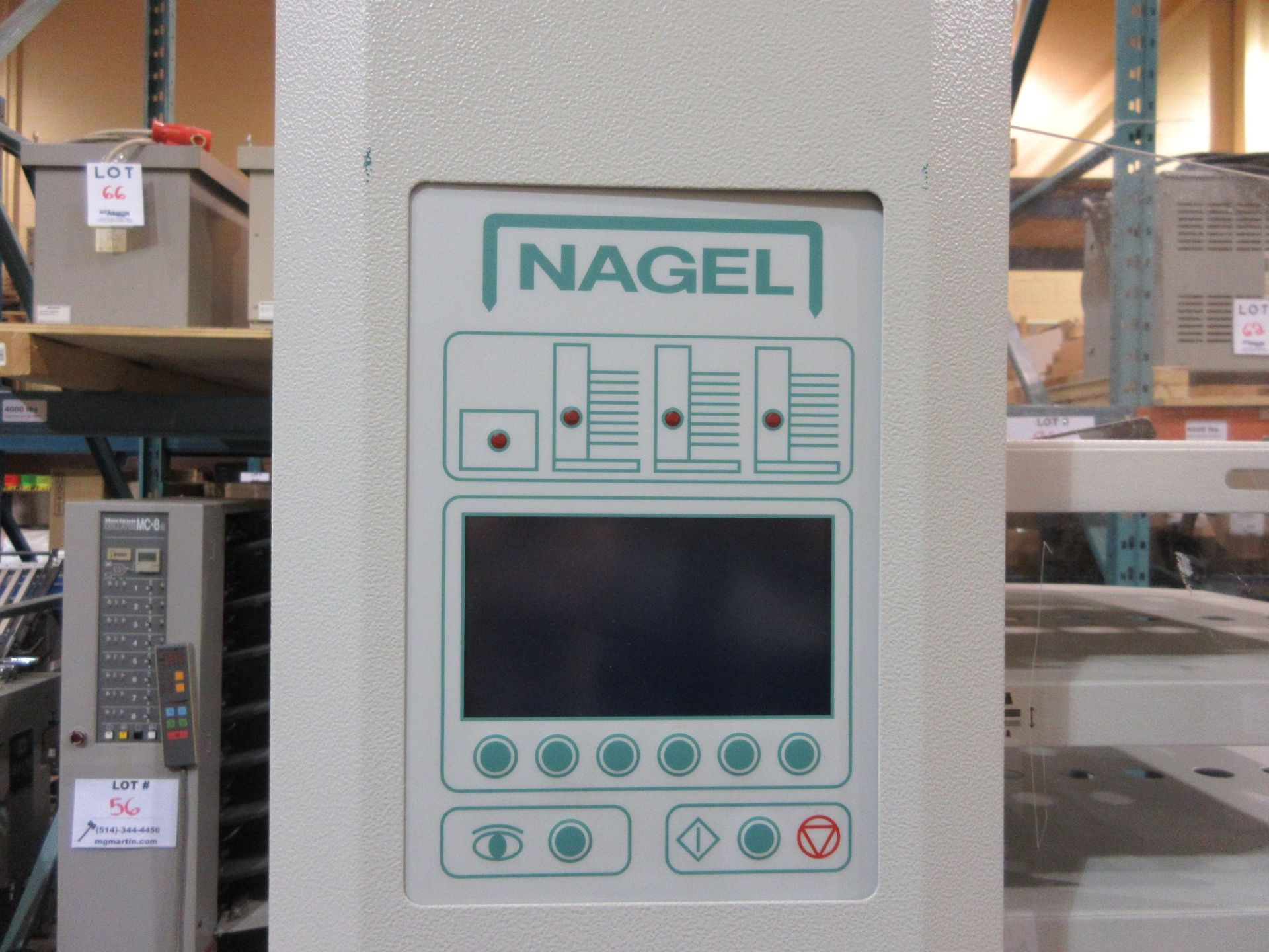 Lot 51 - NAGEL collator (mod: S8) 230V, 50/60hz, 5H (AS IS)