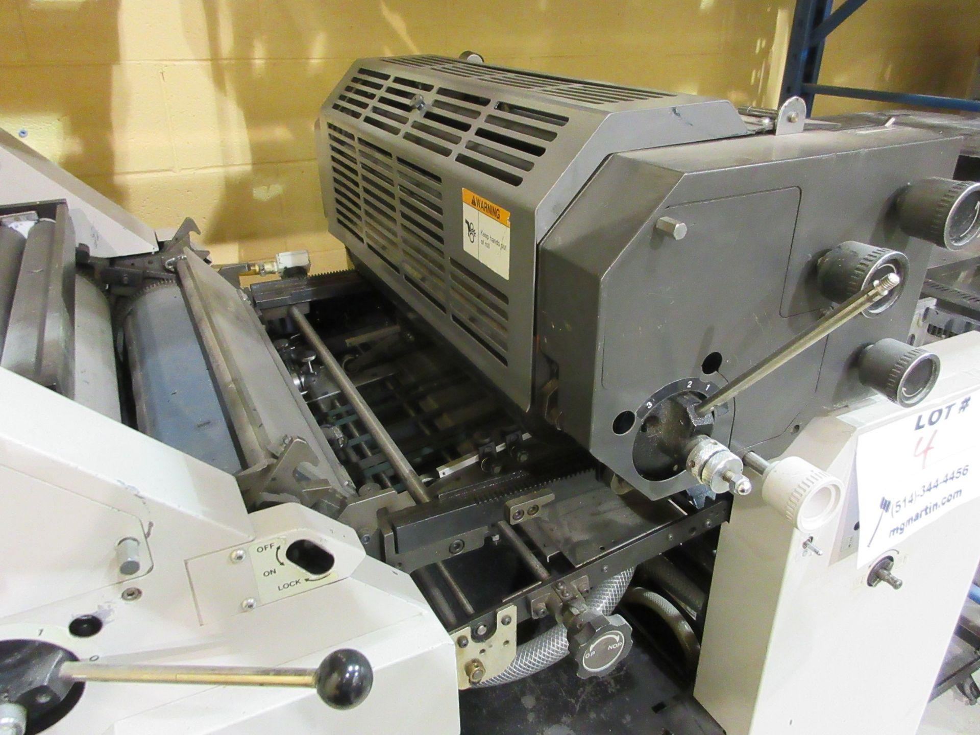 """HAMADA TRUE (2) color offset printing press 14"""" x 17"""" (mod: Superb 47S ) - Image 5 of 9"""
