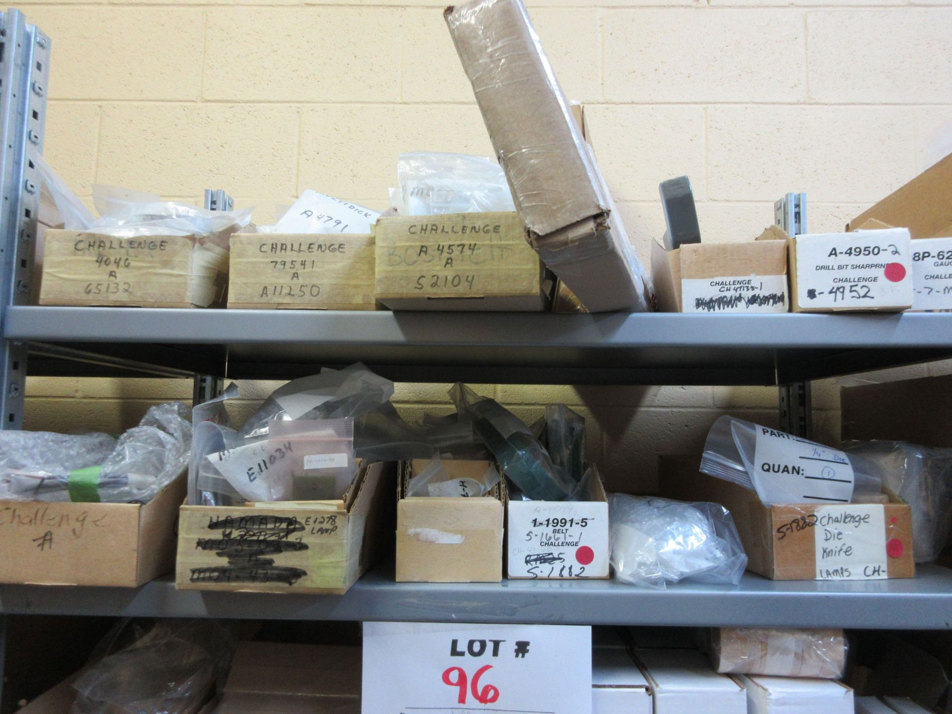 LOT Including boxes of assorted consumable parts for CHALLENGE (paper drills, cutting sticks, wooden - Image 6 of 6