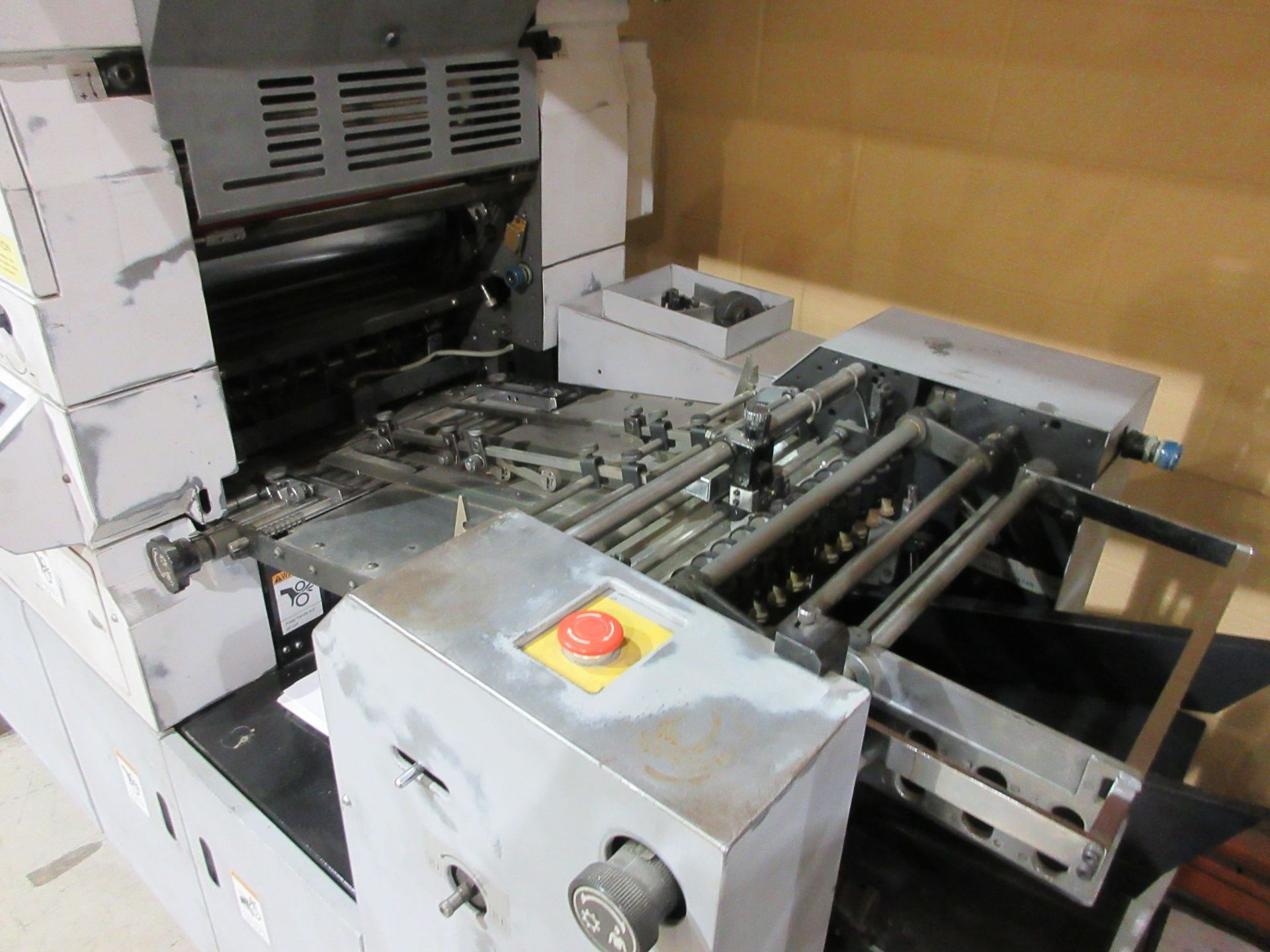 Lot 49 - HAMADA TRUE (2) color offset press (mod: H234A) (FOR PARTS ONLY)