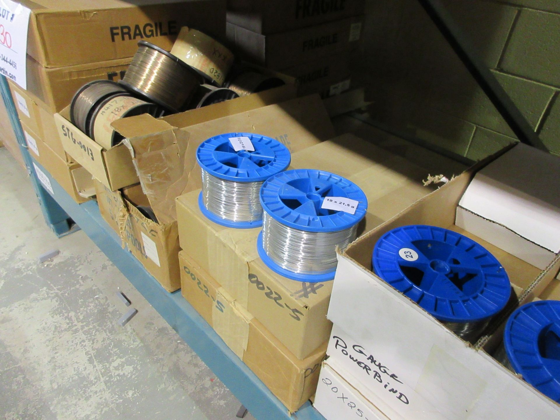 Rolls of stitching wire (qty 180) - Image 2 of 3